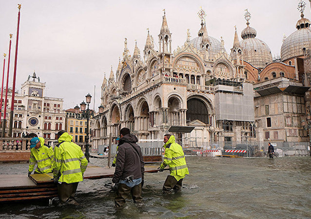 威尼斯洪水