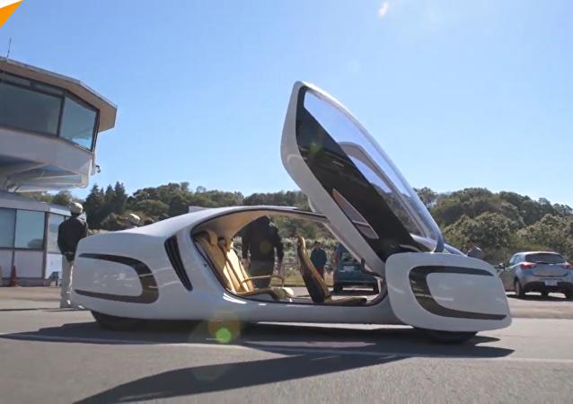 日本推出超轻概念车 90%由塑料制成