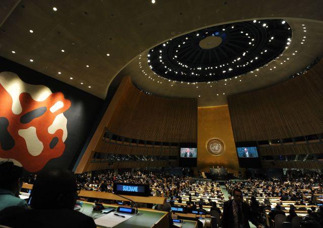 联合国大会通过三项俄方提出的有关太空非军事化决议