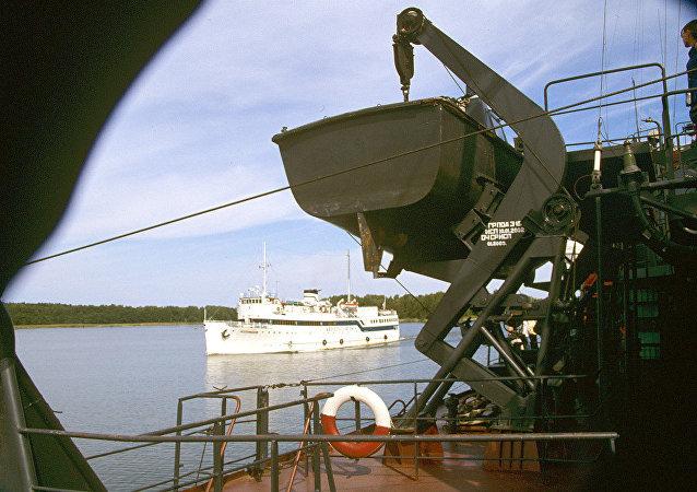 列宁格勒州波罗的海海边港口