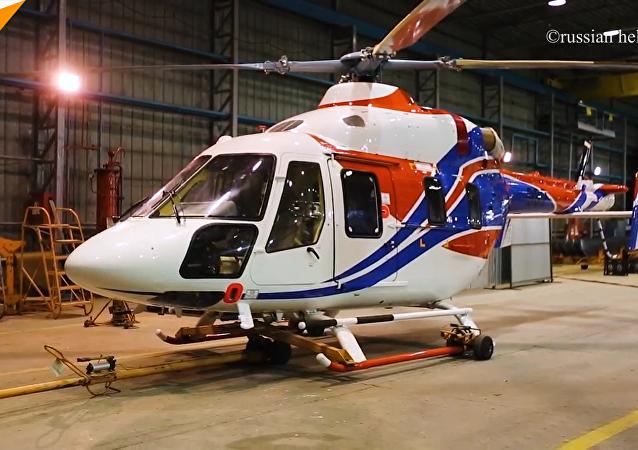 俄米-171A2和安萨特直升机赴中国参加航展