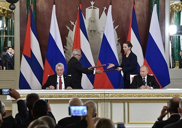 俄古两国领导人反对太空军备竞赛