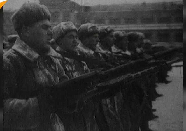 1941年11月7日红场大阅兵