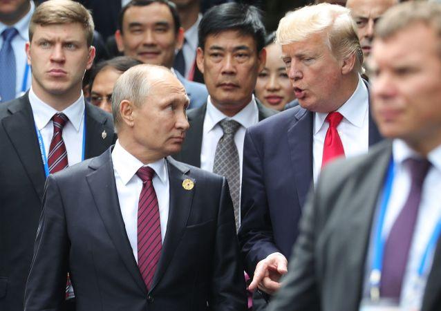 普京:愿意在G20峰会期间与美国总统特朗普会面