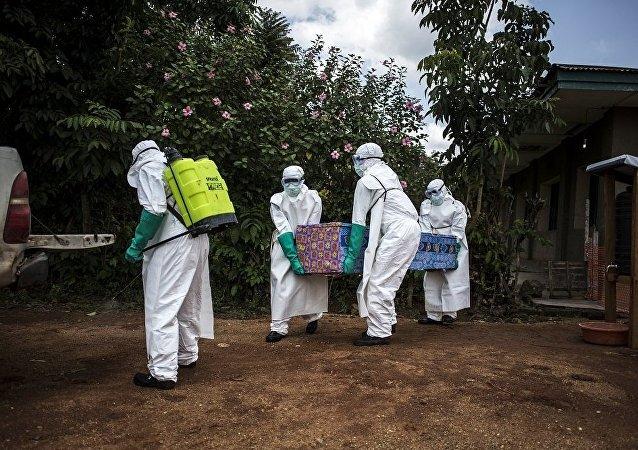 刚果民主共和国的埃博拉疫情 (资料图片)