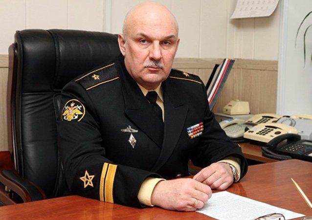 俄太平洋舰队司令在符拉迪沃斯托克会见韩国海军军官