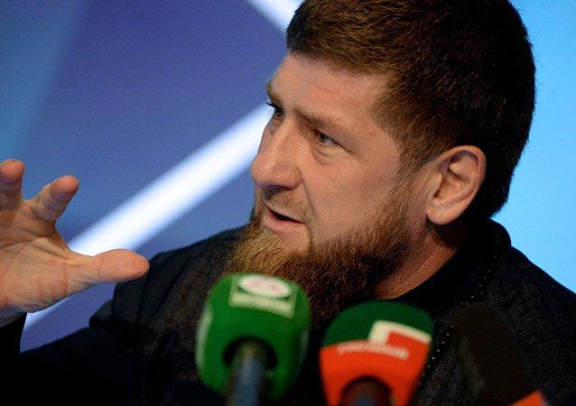 车臣领导人拉姆赞·卡德罗夫