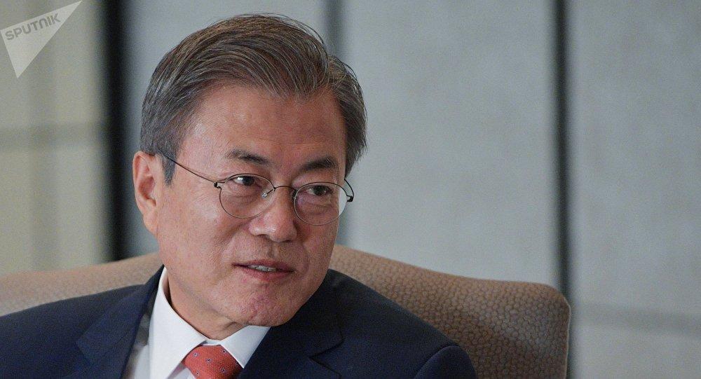 韩国总统:该国将为建朝鲜立半岛新秩序发挥主导地位