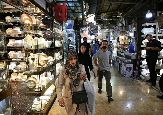 中国在德黑兰举办中国品牌商品展