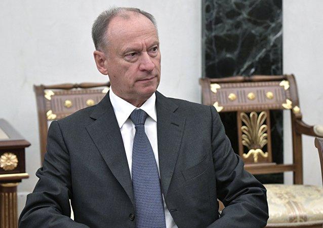俄罗斯联邦安全会议秘书尼古拉·帕特鲁舍夫