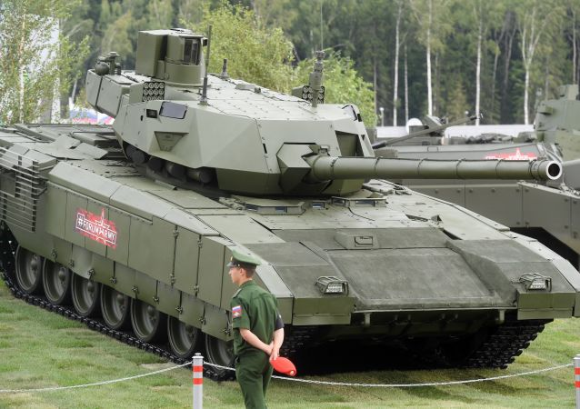 俄罗斯阿玛塔T-14坦克