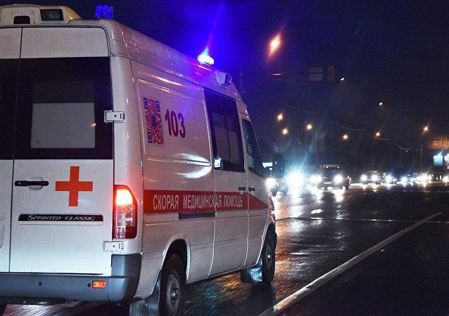 莫斯科高尔基公园天桥垮塌造成5人受伤