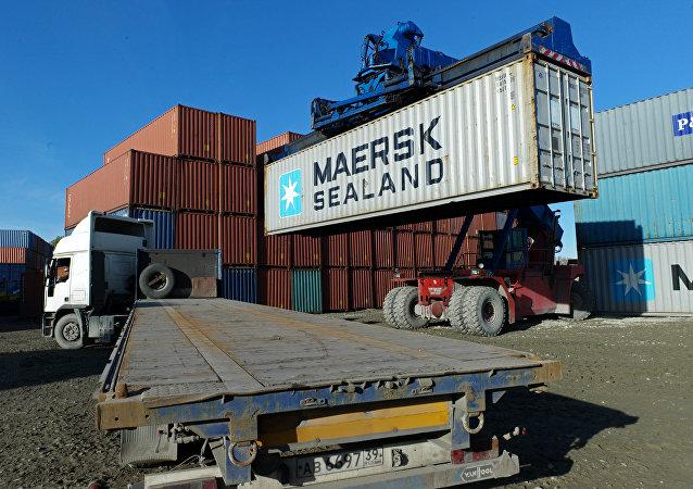 三月中国至俄集装箱运费较年初峰值下降30%