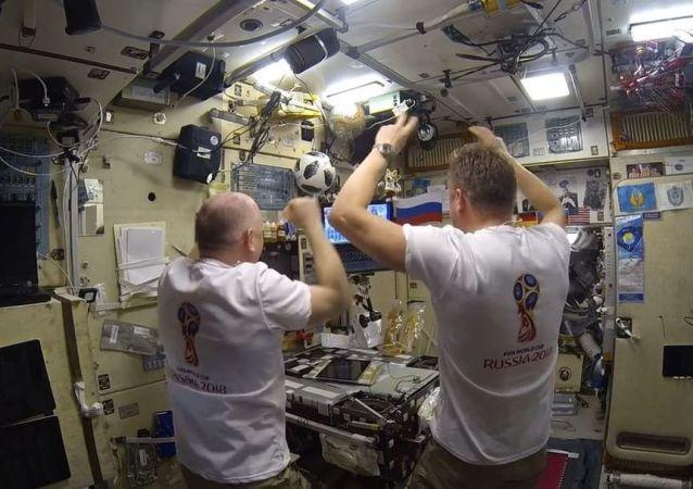 国际空间站的俄宇航员