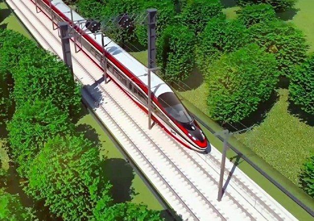 俄铁公司开发出概念高铁