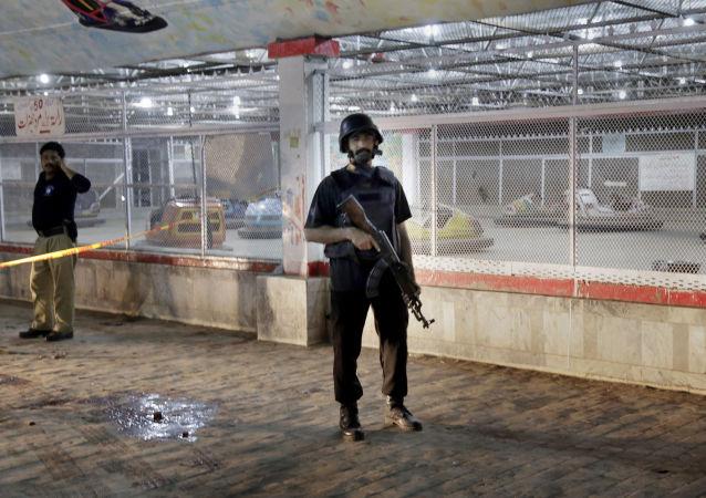 巴基斯坦一警察局附近发生爆炸 25人受伤