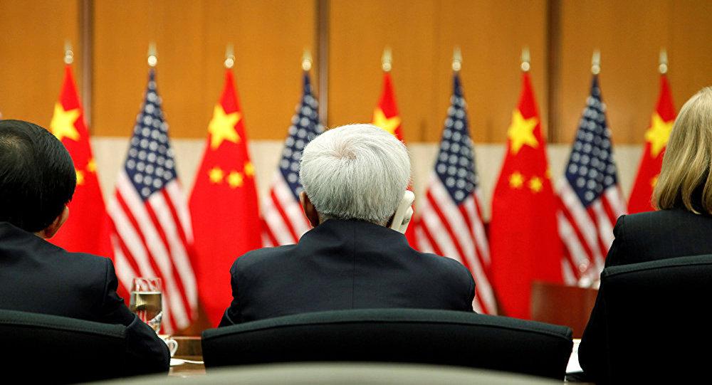 Китайско-американские переговоры.