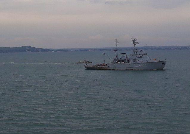 俄总统新闻秘书称不了解是否会归还被扣乌克兰军舰