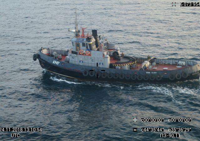 乌克兰船只
