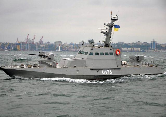 """乌克兰""""斑蝰蛇""""型装甲炮艇"""
