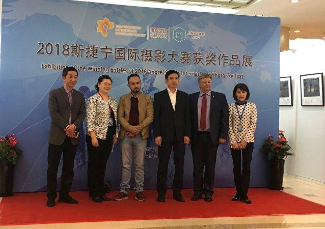 斯捷宁新闻摄影大赛获奖作品展在上海开幕