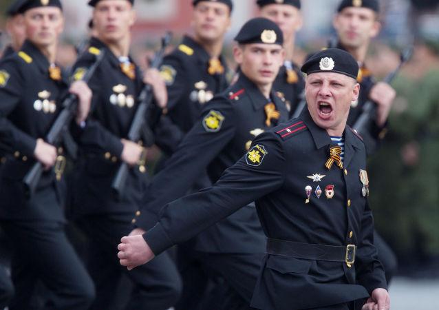 俄跨军种大型演习在克里米亚开始