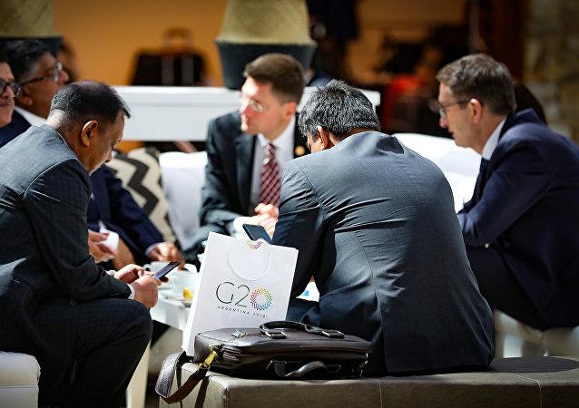 中国商务部:中方希望与G20成员就国际贸易议题进行建设性对话