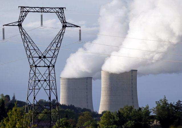法总统称巴黎计划在2035年前关停14座核反应堆