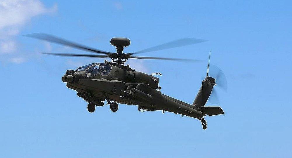 AH-64E攻击型直升机