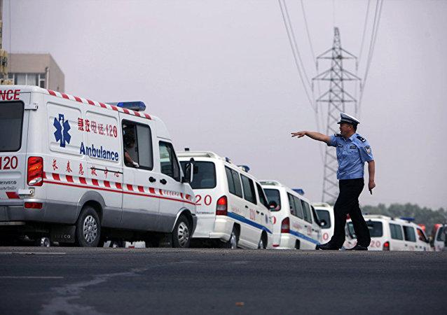 中国救护车(资料图片)