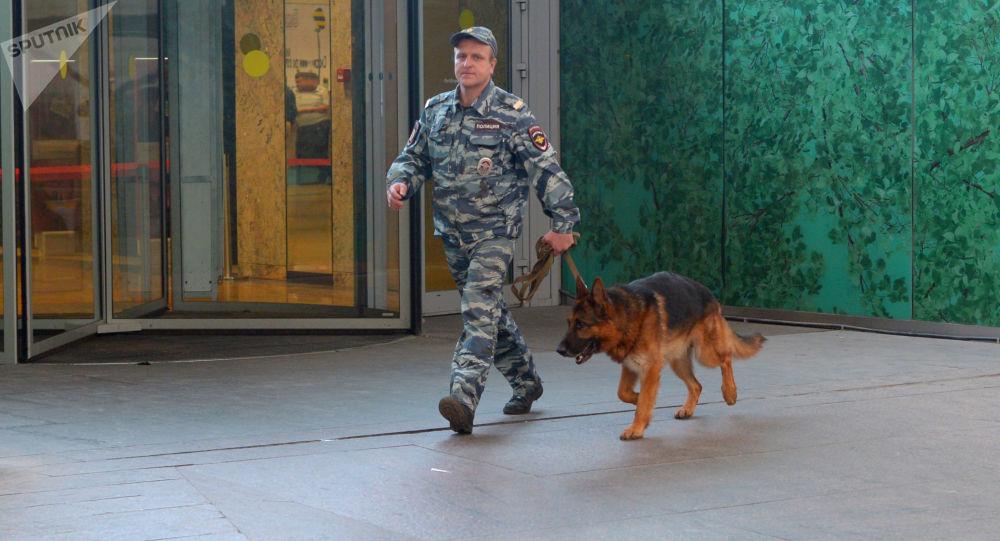 莫斯科郊区两家商场接到炸弹威胁电话 逾1500人被疏散
