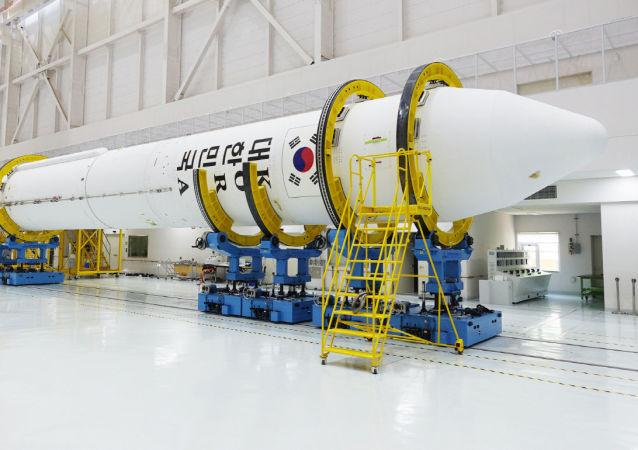 韩国成功进行自研火箭发动机的试验