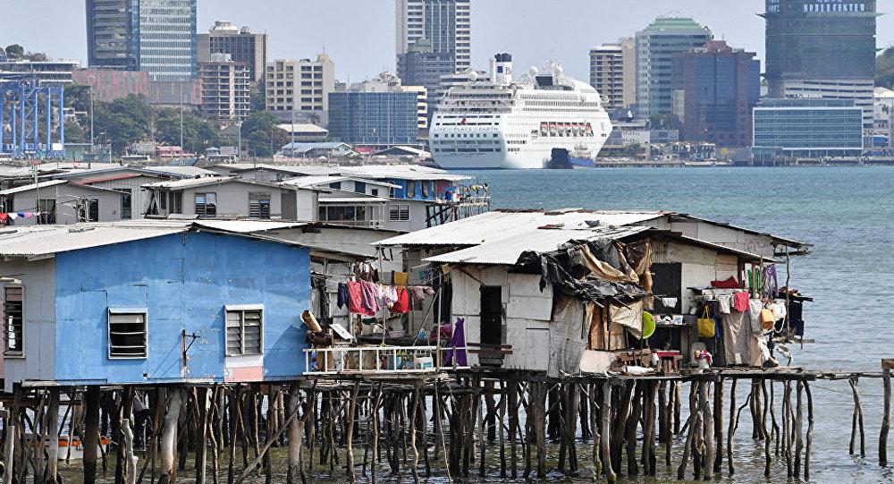 巴布亚新几内亚首都莫尔兹比港
