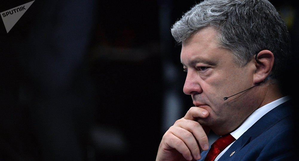 民调:波罗申科人气再次跌入谷底