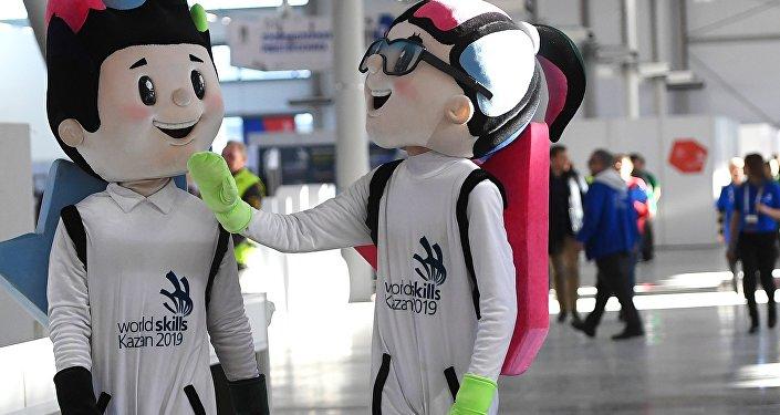 第45届喀山2019世界技能冠军赛官方吉祥物