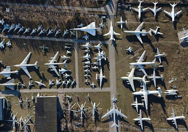 中央空军博物馆(莫斯科郊外的莫尼诺村)