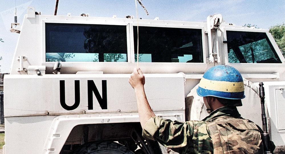 Миротворцы ООН. Архивное фото.