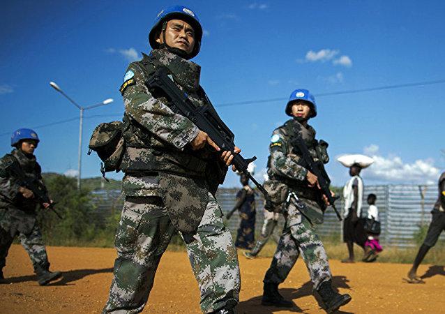 中国迫使西方国家重审维和态度