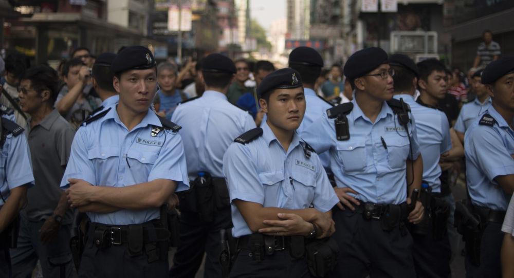 Полиция в Китае. Архивное фото.