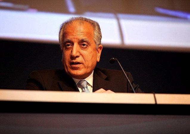 美国政府阿富汗和解事务特别代表哈利勒扎德