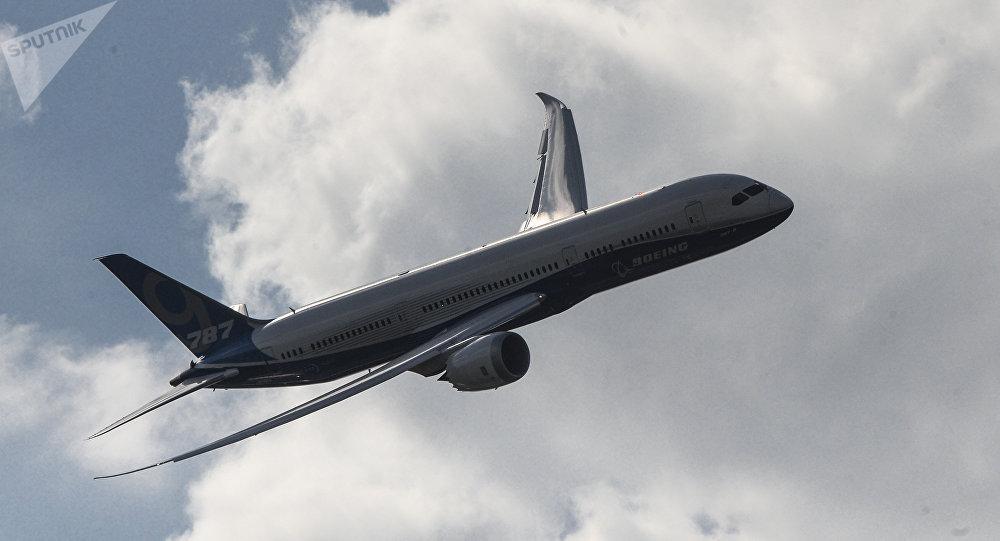 Пассажирский самолет Boeing 787-9 Dreamliner. Архивное фото.