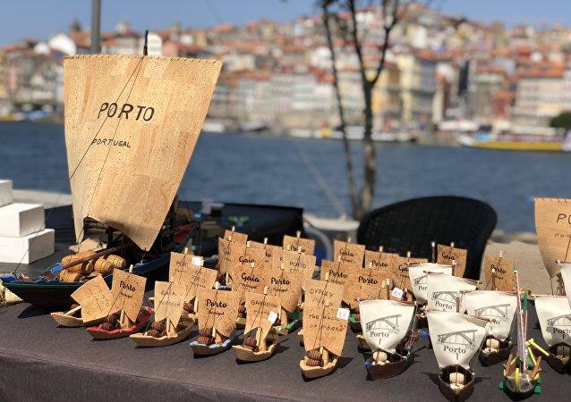 Сувениры. Порто. Португалия.