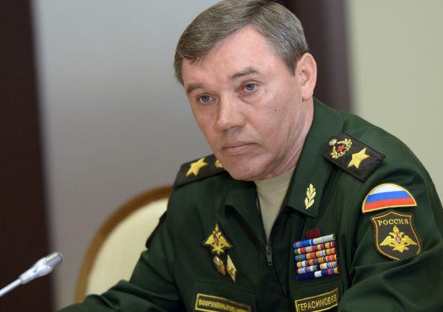 俄罗斯武装力量总参谋长瓦列里·格拉西莫夫