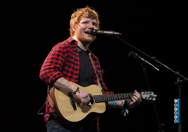 英国创作歌手艾德·希兰(Ed Sheeran)