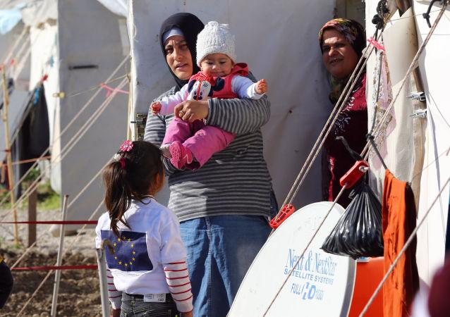 叙利亚难民营(资料图片)