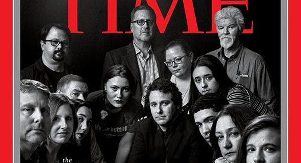 《时代周刊》公布2018年度人物   卡舒吉榜上有名