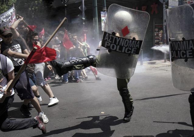 雅典,冲突