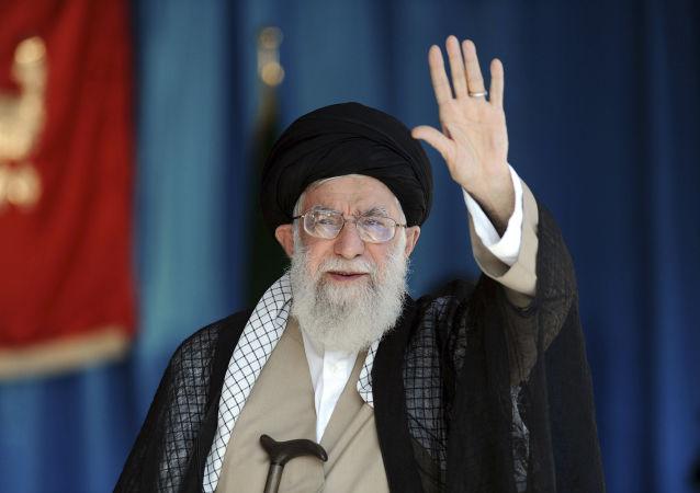 伊朗最高领导人大阿亚图拉哈梅内伊