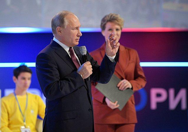 俄罗斯总统弗拉基米尔•普京,12月13日
