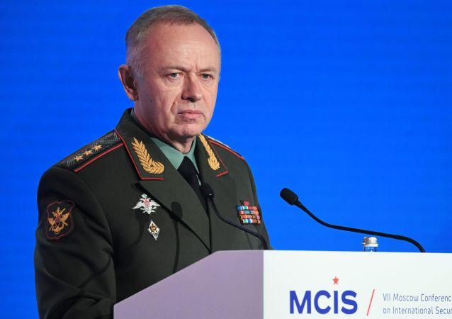 俄国防部副部长福明
